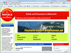 hotels-und-pensionen.at