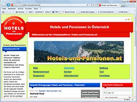 hotels-und-pensionen.at