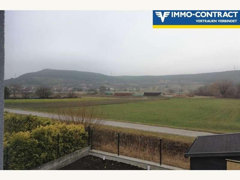 Ostansicht des Hauses - Einfamilienhaus Großrußbach - Bild 1